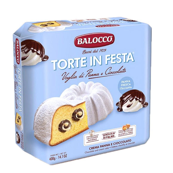 Balocco - Torte in Festa - Cream & Chocolate-The Italian Shop