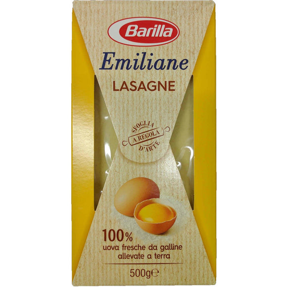 Barilla - Lasagna - ( Egg ) - The Italian Shop - Free delivery