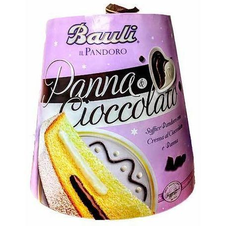 Bauli - Il Pandoro - Panna & Cioccolato-The Italian Shop