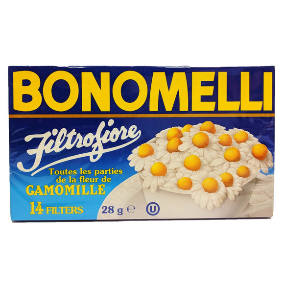 Bonomelli - Camomille - Tea Bags -The Italian Shop - Free Delivery