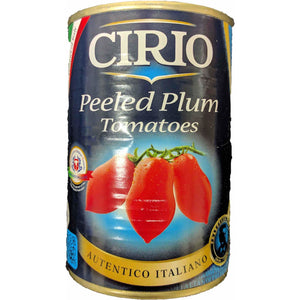 Cirio - Plum peeled tomatoes - The Italian Shop - Free delivery