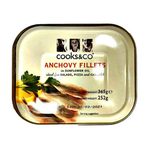 Cooks&co - Anchovy Fillets-The Italian Shop