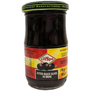 Crespo - Pitted Black Olives in Brine - The Italian Shop - Free delivery