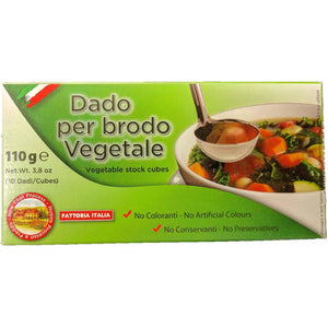 Dado per brodo - Vegetale ( Vegetable stock cubes ) - The Italian Shop - Free delivery