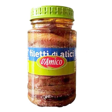 D'Amico - Filetti di alici (anchovy)
