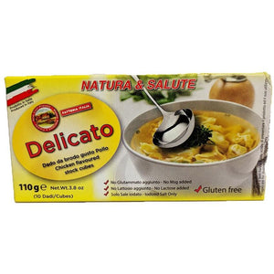 Delicato - Chicken Flavoured stock cubes - The Italian Shop - Free delivery
