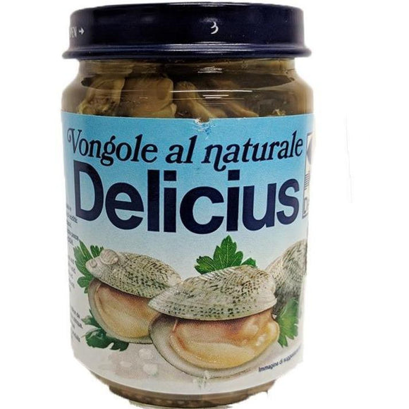 Delicius - Vongole al Naturale - The Italian Shop - Free delivery