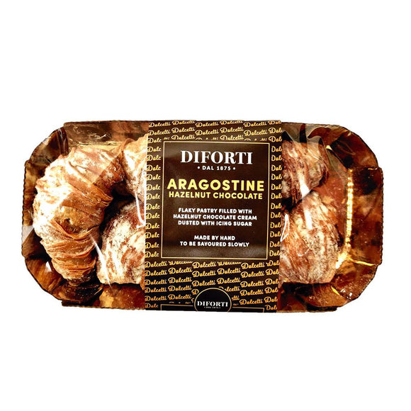 Diforti - Aragostine - Hazelnut Chocolate-The Italian Shop - Free Delivery