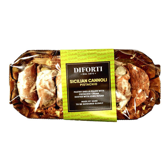 Diforti - Sicilian Cannoli - Pistachio-The Italian Shop - Free Delivery