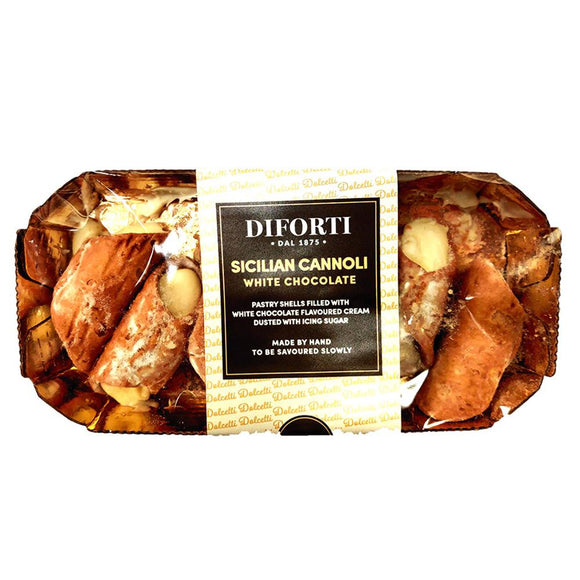 Diforti - Sicilian Cannoli - White Chocolate-The Italian Shop - Free Delivery