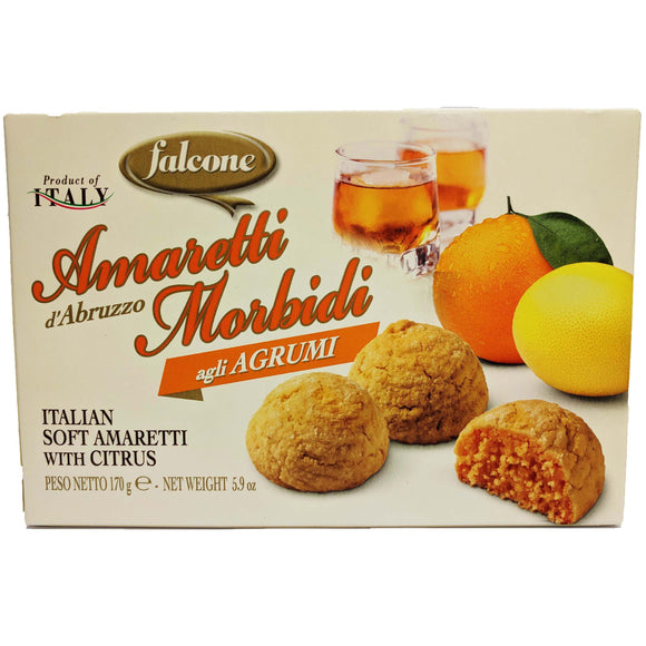 Falcone - Amaretti Morbidi - al Agrumi -The Italian Shop - Free Delivery