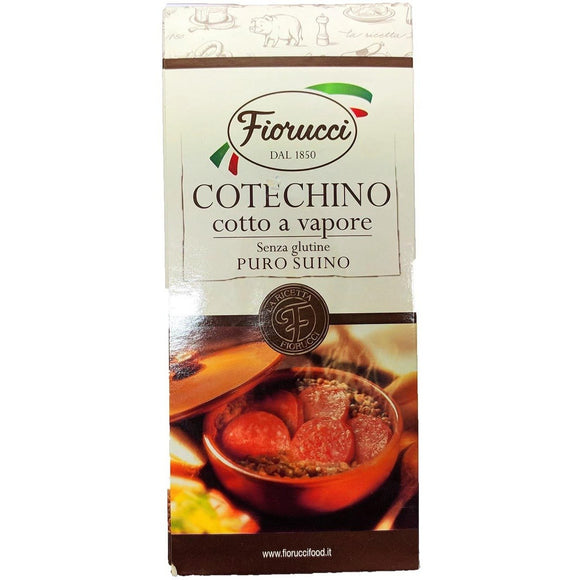 Fiorucci - Cotechino ( box ) - The Italian Shop - Free delivery