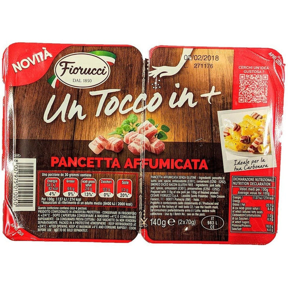 Fiorucci - Pancetta Affumicata - The Italian Shop - Free delivery