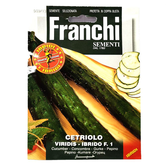 Franchi - Cetriolo - Seeds-The Italian Shop