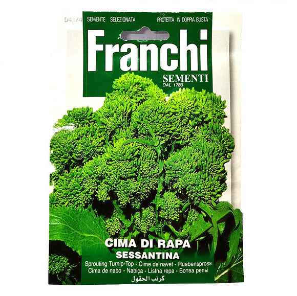 Franchi - Cima di Rapa - Seeds-The Italian Shop