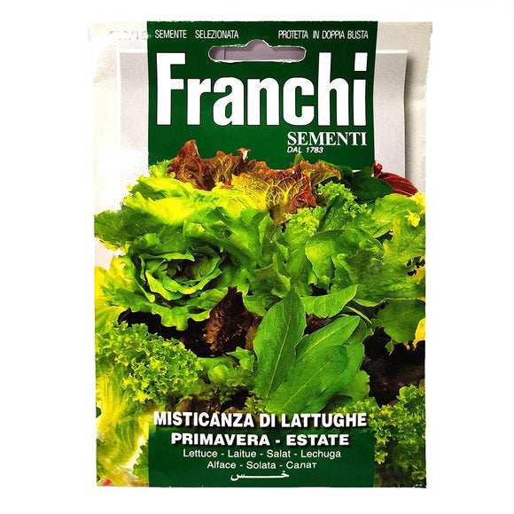 Franchi - Misticanza di Lattughe- Seeds-The Italian Shop