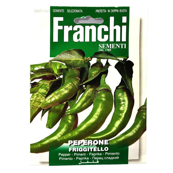 Franchi - Peperone - Seeds-The Italian Shop