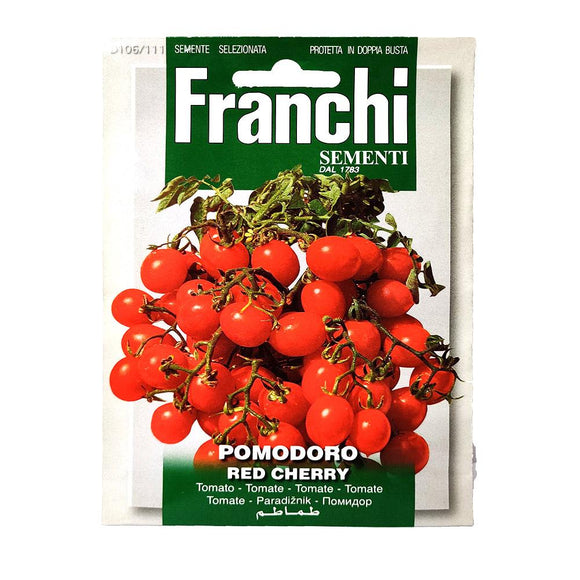 Franchi - Pomodoro - Red Cherry - Seeds-The Italian Shop