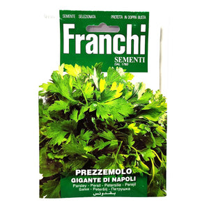 Franchi - Prezzemolo - Seeds-The Italian Shop