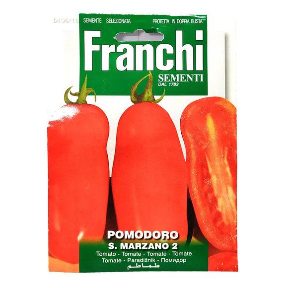 Franchi - S.Marzano Pomodoro - Seeds-The Italian Shop