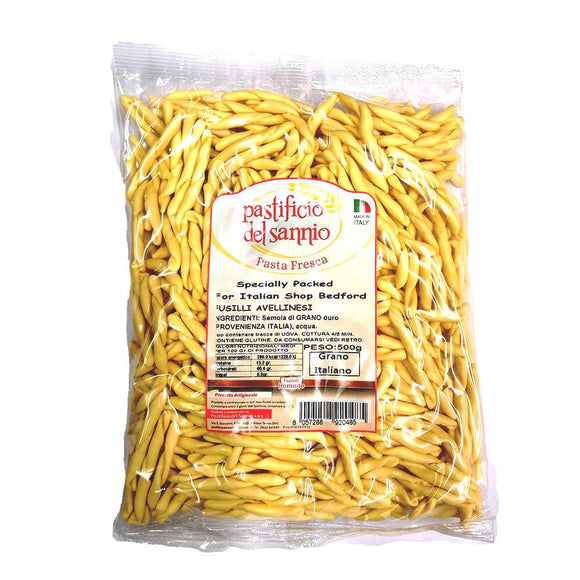 Fusilli Avellinesi ( Fresh Pasta )-The Italian Shop