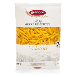 Granoro - Mezze Pennette - N.30-The Italian Shop - Free Delivery