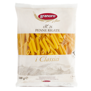 Granoro - Penne Rigate - N.26-The Italian Shop - Free Delivery