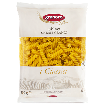 Granoro -Spirali Grandi - N.100-The Italian Shop - Free Delivery