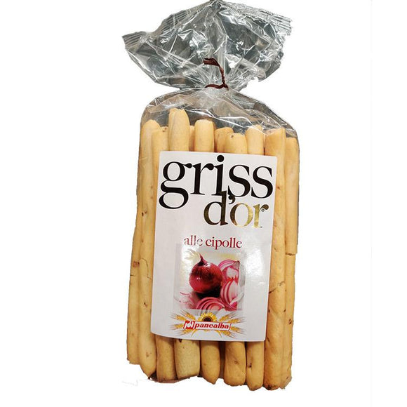 Griss d'or - Alle Cipolle ( Onion ) - Breadsticks-The Italian Shop
