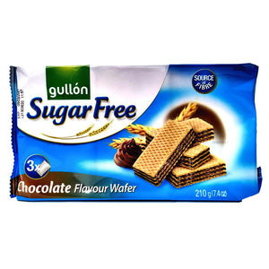 Gullon - Chocolate Flavour Wafer - Sugar Free-The Italian Shop
