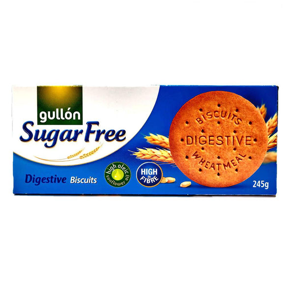 Gullon - Digestive Biscuits - Sugar Free-The Italian Shop