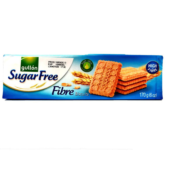 Gullon - Fibre Biscuits - Sugar Free-The Italian Shop