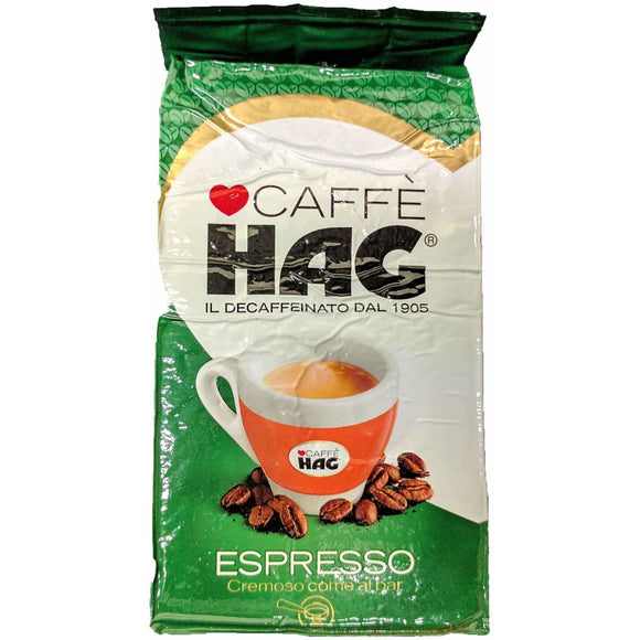 HAG - Decaffeinated Espresso Coffee - The Italian Shop - Free delivery