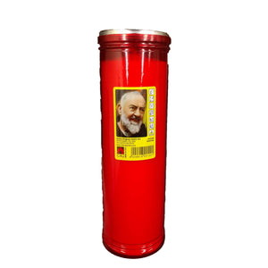 Italian Candle - Red ( large )-The Italian Shop