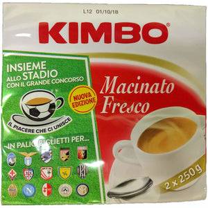 Kimbo - Espresso Coffee ( twin pack ) - The Italian Shop - Free delivery