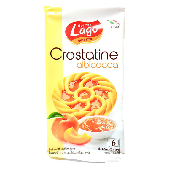 Lago - Crostatine - Albicocca - 6pk-The Italian Shop