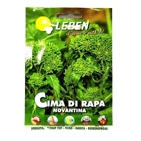 Leben - Cima Di Rapa - Seeds-The Italian Shop