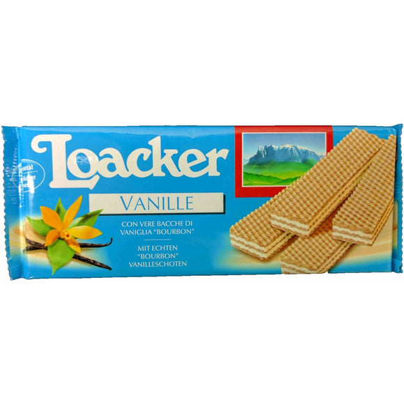 Loacker - Vanilla Wafer - The Italian Shop - Free delivery