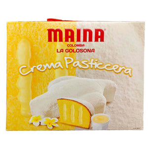 Maina - Colomba - Crema Pasticcera-The Italian Shop