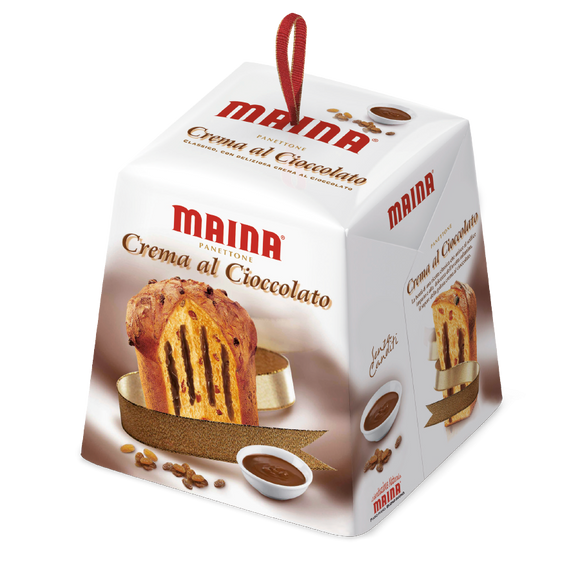 Maina - Panettone - Creama Al Cioccolato-The Italian Shop