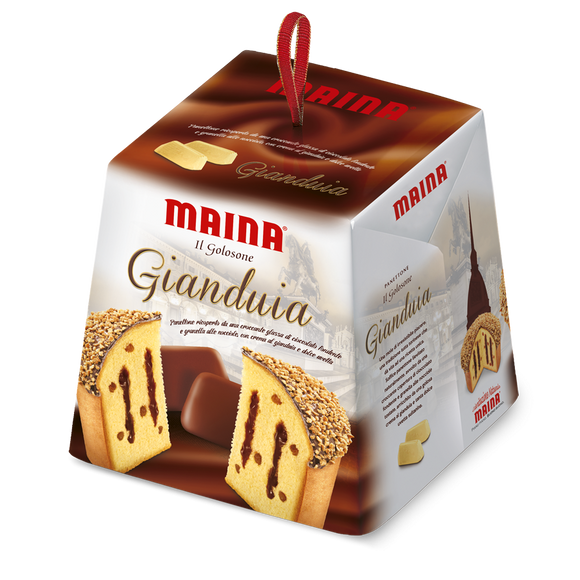 Maina - Panettone - Gianduia-The Italian Shop