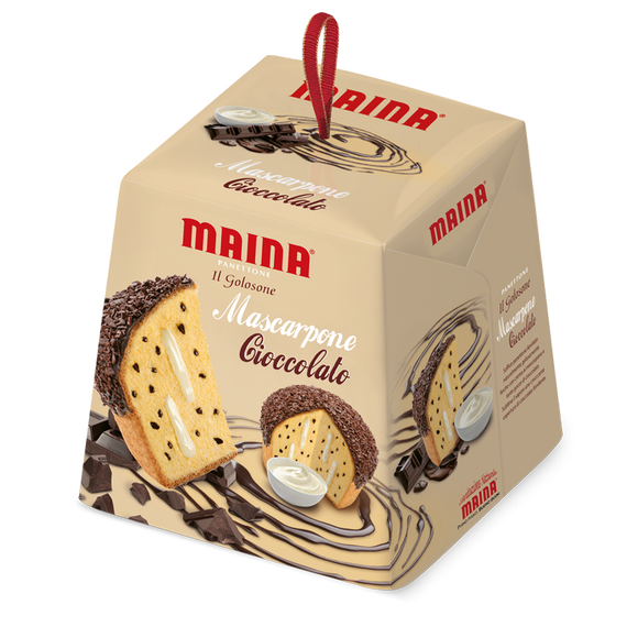 Maina - Panettone - Mascarpone Cioccolato-The Italian Shop
