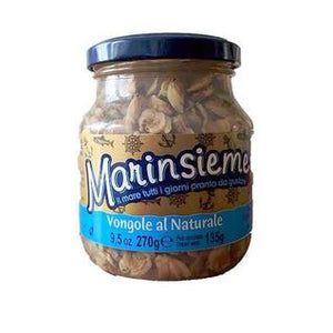 Marinsieme - Vongole al Naturale - The Italian Shop - Free delivery