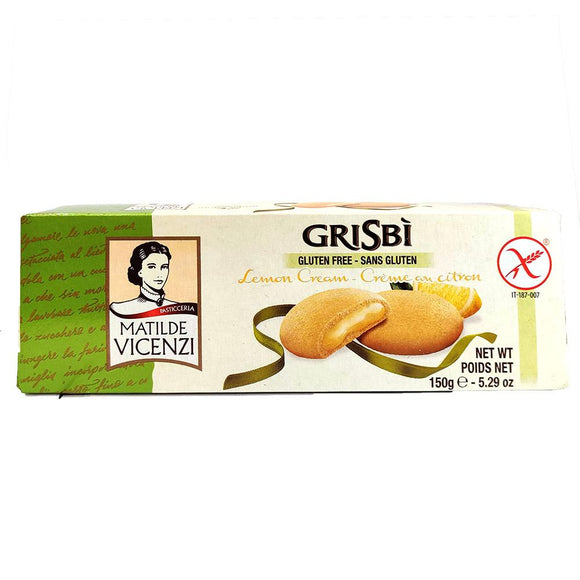 Matilde Vicenzi - Grisbi - Lemon - Gluten Free-The Italian Shop