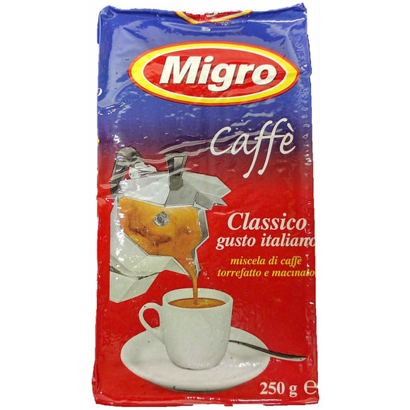 Migro - Espresso Coffee - The Italian Shop - Free delivery