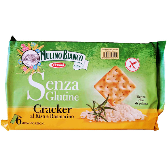 Mulino Bianco - Cracker - Gluten Free-The Italian Shop