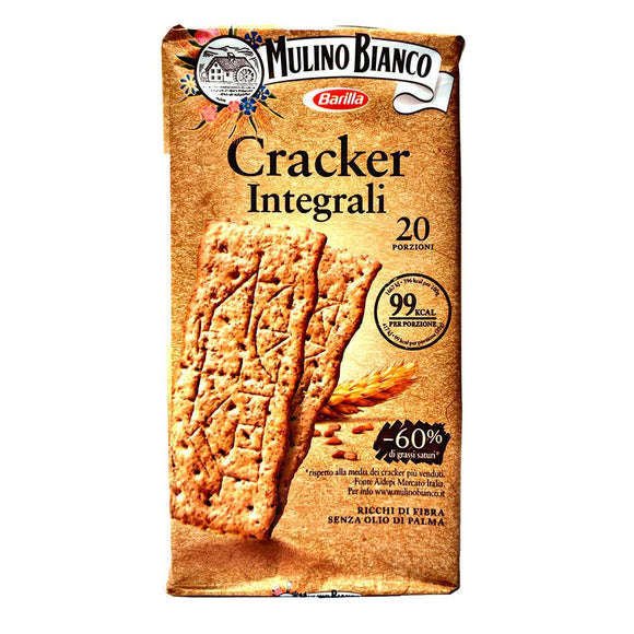 Mulino Bianco - Cracker - Integrali-The Italian Shop