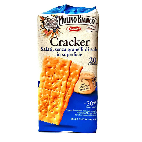 Mulino Bianco - Cracker - Lightly salted ( without grains of salt )-The Italian Shop