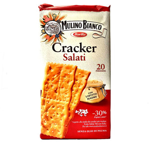 Mulino Bianco - Cracker - Salted-The Italian Shop