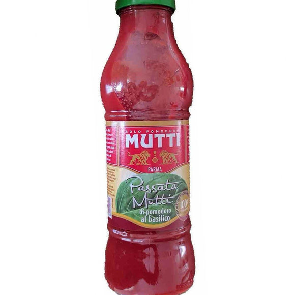 Mutti - Passata - Di Pomodoro al basilico ( Tomato with Basil ) - The Italian Shop - Free delivery